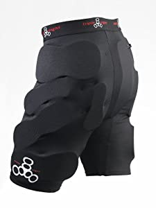 Triple Eight Bumsaver Padded Shorts - Black Small(26-30in)