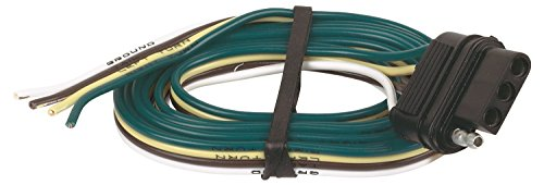 Hopkins 48035 4 Wire Flat Vehicle End Connector (96 Dodge Ram Trailer Plug compare prices)