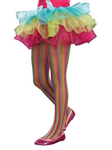 SugarSugar Rainbow Fishnet Tights, Medium/Large - 1