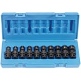 "Grey Pneumatic (1210UM) 3/8"" Drive 10-Piece Universal Metric Socket Set"