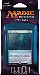 Magic the Gathering- MTG Eldritch Moon- Intro Pack / Theme Deck- Dangerous Knowledge (includes 2 Booster Packs & Alternate Art Premium Rare Promo) Blue / Red - Niblis of Frost