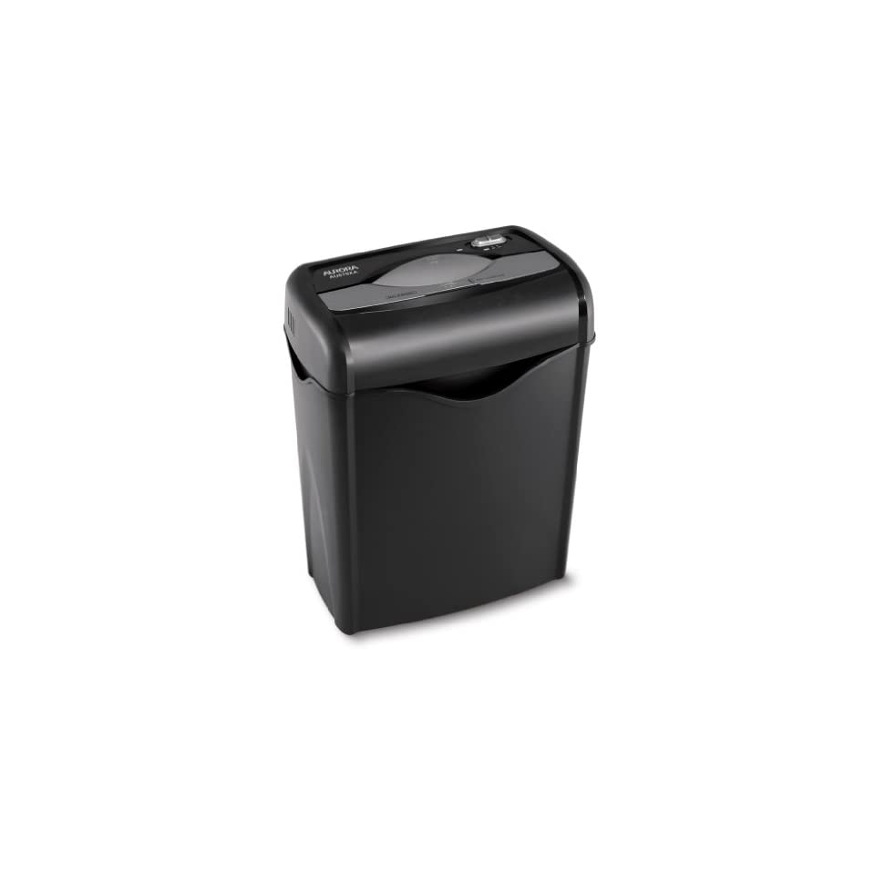 Aurora AU670XA Professional Light Duty Crosscut Paper Shredder   3.8 Gallon Wastebasket