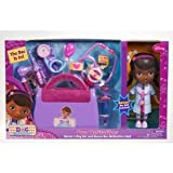 Doc Mcstuffins Doctor's Bag Exclusive Gift Set With Sounds Light Stethoscope (For Ages 3 Years & Up)