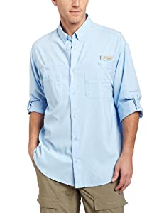Columbia Men's Tamiami II Long Sleeve Shirt (Tall), Sail, 2X