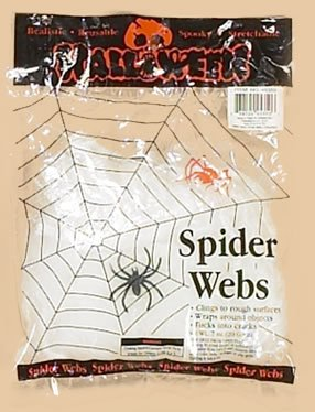 Stretchable Spider Web with Spider - 1