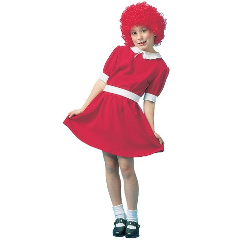 Red Orphan Child Costume