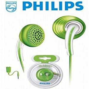 Philips SHE 3621 In ear Earphone Headphone Bubble