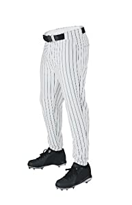 Buy Wilson Sporting Goods Deluxe Adult Poly Warp Knit Pinstrip Baseball Pant by Wilson