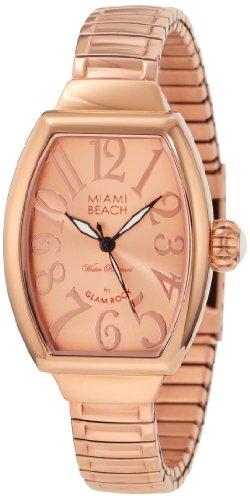 Glam Rock MBD27098 - Reloj para mujeres color dorado