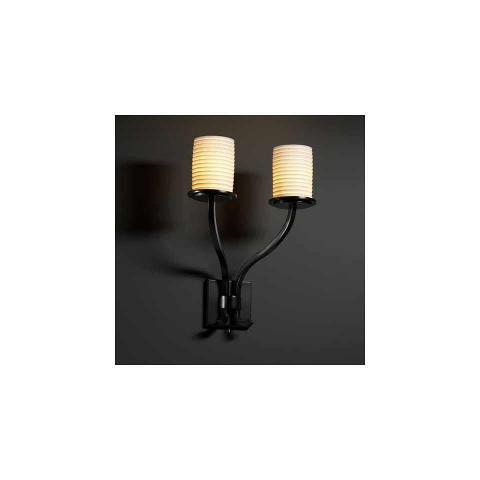 Justice Design Group POR 8785 Sonoma 2 Light Wall Sconce (Tall)