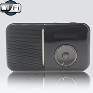 Portable Wireless Wi-Fi Internet Radio Player with FM Tuner