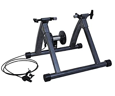 Oshion Magnetic Indoor Bicycle Bike Trainer Exercise Stand 5 levels of Resistance