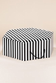 M&S Collection Striped Hat Box