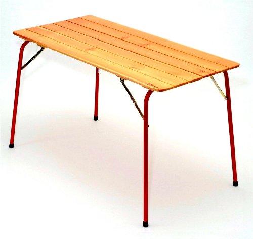 カステルメルリーノ(Castelmerlino) イタリア製 折りたたみ アウトドア テーブル L (120 X 60cm) No.48