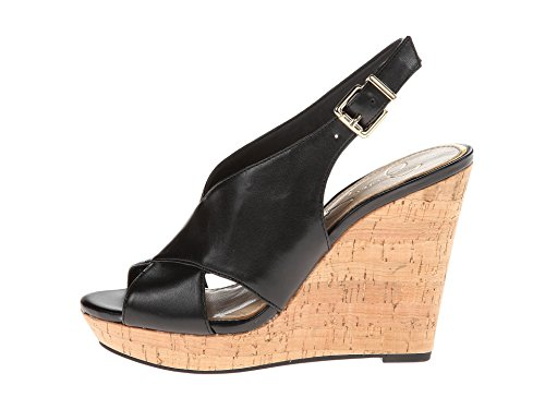 Wedge Leather Sandals