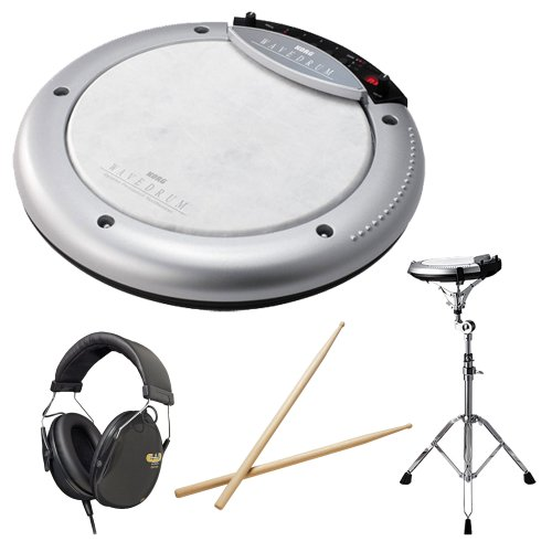 Korg WAVEDRUM with Stand, Headphones and Drum Sticks
