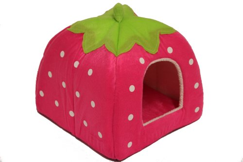 strawberry-pet-igloo-bed-house-3-sizes-and-3-colours-to-choose-from-medium-pink