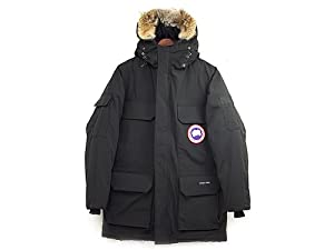 (カナダグース)CANADA GOOSE メンズ ダウンジャケット 4565M MEN\'S EXPEDITION PARKA ブラック BLACK[並行輸入品]