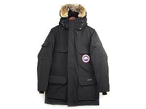 (カナダグース)CANADA GOOSE メンズ ダウンジャケット 4565M MEN\'S EXPEDITION PARKA ブラック BLACK[並行輸入品]