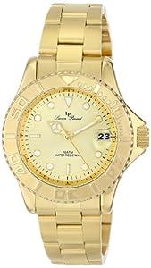 Lucien Piccard Women's LP-12652-YG-10 Walen Analog Display Japanese Quartz Gold Watch