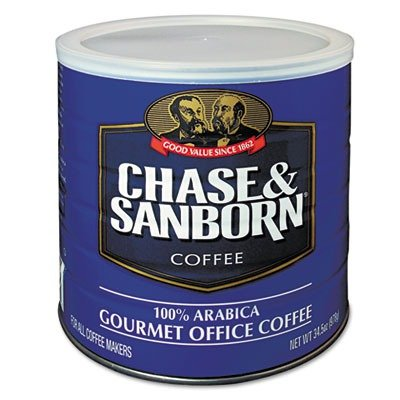 Chase and Sanborn OFX33000 Gourmet Office Coffee, Arabica (Chase And Sanborn Coffee compare prices)