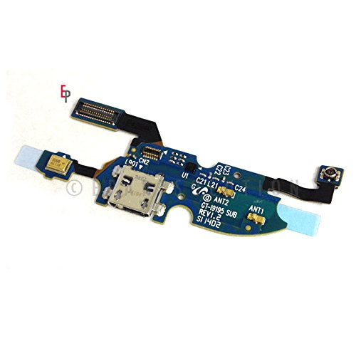 Epartsolution-Samsung Galaxy S4 Mini I9190 I9195 I9192 Charger Charging Port Dock Connector Usb & Microphone Mic Flex Cable Replacement Part Usa Seller