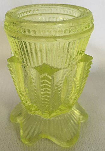 Toothpick Holder - Cactus - Vaseline - American Made