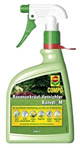 Compo 10506 Rasenunkraut-Vernichter Banvel M Spray 1000 ml