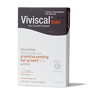 Viviscal Hair Dietary Supplements Man,60 count