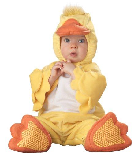 Incharacter Infant Duck Costume, Yellow/Orange/White, 12-18 Months