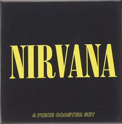 Nirvana - 4 Piece Cork Coaster Set - 4 Glas Untersetzer im Geschenkkarton