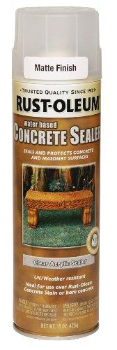 Rust-Oleum 247167 Concrete Sealer Spray, Matte Clear, 15-Ounce (Concrete Sealer Clear compare prices)
