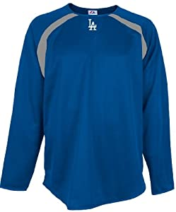 Los Angeles Dodgers MLB Therma Base Tech Fleece by Majestic