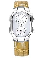 Philip Stein Women's 1FFSMOPASS Tesslar Mother-Of-Pearl Dial Watch