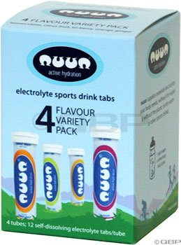 nuun Active Hydration: 4 Tube Mixed Pack
