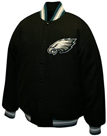 NFL Mens Philadelphia Eagles Dual Edge Reversible Wool Jacket by MTC Marketing, Inc