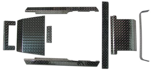 EZGO TXT Golf Cart Diamond Plate Accessories