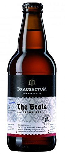Braufactum - The Brale Brown Ale 4,8% - 0,355l inkl. Pfand thumbnail