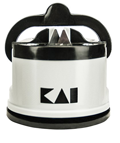 Kai AP0130 Pull Through Knife Sharpener, Gray/Black