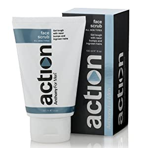 ACTION Anthony for Men Face Scrub, 6 oz. by Anthony Logistics For Men