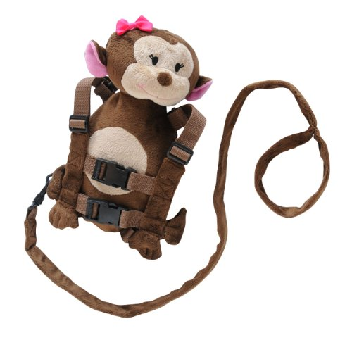 New Eddie Bauer Harness, Girl Monkey