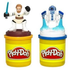 Play-Doh Star Wars The Clone Wars Stampers with Obi-Wan & R2-D2