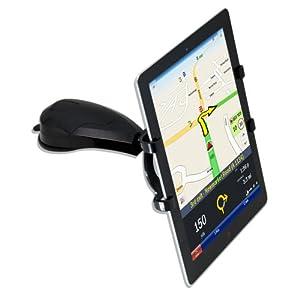 "Satechi ST-TP01 Car Holder Mount for 5"" - 10"" Smartphones & Tablets: iPad, iPad Mini, Asus Eee Pad Transformer, Motorola Xoom, Samsung Galaxy Tab, Galaxy 10.1, Viewsonic Gtablet, Blackberry Playbook, HTC Flyer at Electronic-Readers.com"