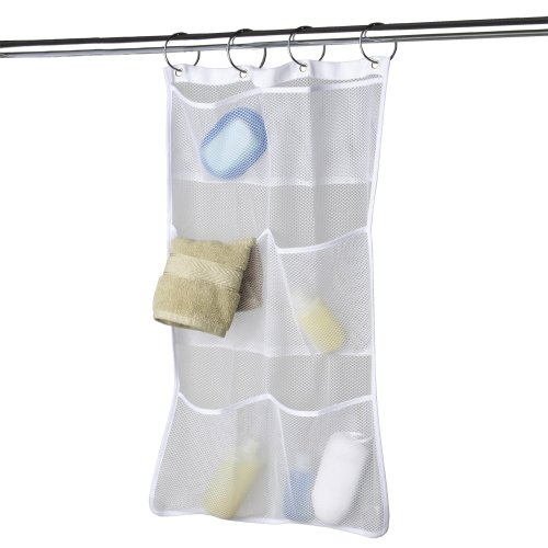 Organizador De Ducha Para Baño:Bath Shower Mesh Organizer