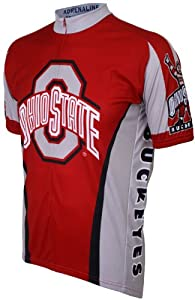 NCAA Ohio State Buckeyes Cycling Jersey by Adrenaline Promotions