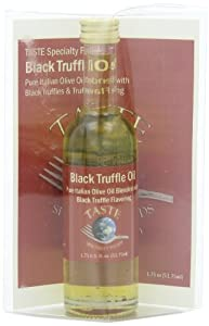 Taste Specialty Foods Black Truffle Oil, 1.75-Ounce