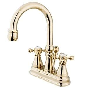 Kingston Brass KS2612BX 4 Inch Centerset Lavatory Faucet