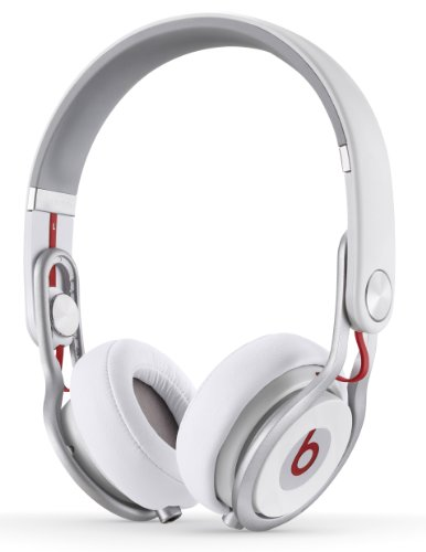 Beats Mixr On-Ear Headphones (White)