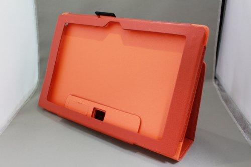 Homu HomuXperia Tablet Z SO-03E全11色PUレザーケース PUレザーカバー エクスペリアタブレットZ レザーケースレザーカバースタンド機能付 ペンホルダー付/SGP312JP (オレンジ)(24-10)