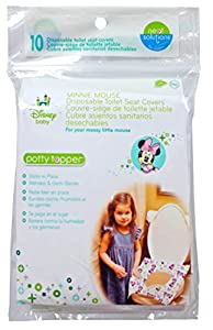 Neat Solutions Minnie MousePotty Topper, 10-Count